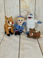 Rudolph The Red Nosed Reindeer Plush Lot 7""