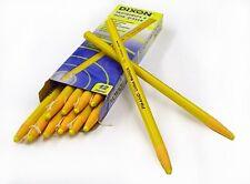 Dixon phano china marqueurs (jaune) - boîte de 12