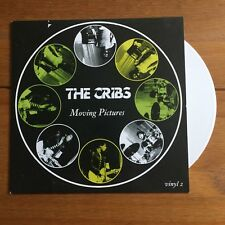 """The Cribs - Moving Pictures 7"""" White Vinyl"""