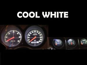 Gauge Cluster LED Dashboard Bulbs Cool White For Ford 74 78 Mustang II