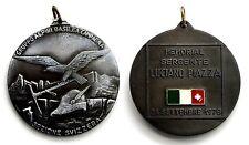 Medaglia Alpini Sezione Svizzera Gruppo Alpini Basilea Memorial Serg. L.Piazza