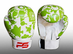 Prime 6oz Kids Boxing Gloves Junior Mitts 4oz Punch Bag Children MMA Youth Boys