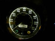 Jaguar XK120 XK140 XK XKE E-Typ 5 LED Instrument Xenon weiß Upgrade Birnen X2