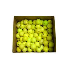 100 Miscellaneous Good Condition Yellow Golf Balls-Titleist/Callaway/TaylorMade