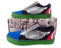 Vans x Marvel Avengers Old Skool Sneaker Hulk Captain America Thor Iron Man