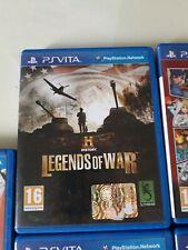 HISTORY Legends Of War Ps Vita Psv Playstation Fast Shipping