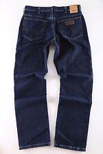 Wrangler Original Herren Regular Jeans Texas W121-040-01 Blue Black Wash Neu