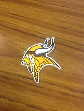 Nfl Minnesota Vikings 2 X 2 3/4 Inches Iron On Patch Nice !