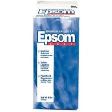 Aaron Brands Laxative & Epsom Salt, 4 lb Bath Salts Body Treatments NEW