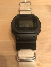 Casio G-Shock Square Face Tactical Stealth Watch 200m NATO Strap Upgrade