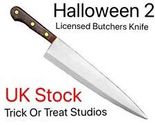 Halloween 2 Prop Coltello da macellaio. Costumi originali di scena Coltello, Dolcetto o Scherzetto Studios. UK