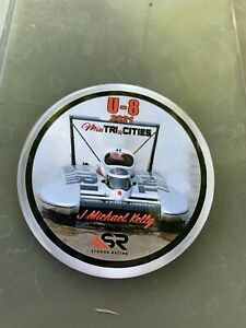 U-8 Miss Tricities J Michael Unlimited Hydroplane Pin button Seattle Seafai
