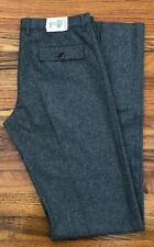NWT CARUSO GREY 100% LANA WOOL Cargo Pants 34 brunello cucinelli ITALY