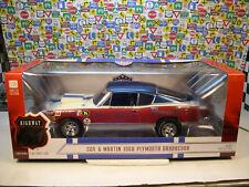 SOX & MARTIN 1968 HEMI BARRACUDA HIGHWAY 61 1:18 SCALE DIECAST METAL MODEL CAR