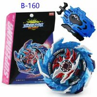 Beyblade Burst Booster B-160 Booster King Helios .Zn L/R Launcher Combat Gyro