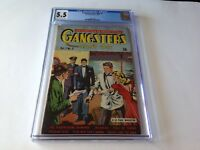 GANGSTERS CANT WIN 5 CGC 5.5 ONLY CGC COPY CGC CENSUS BLONDE RED DRESS DS COMIC