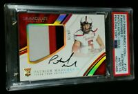 PSA 10 POP 2 PATRICK MAHOMES II RC AUTO /25 SP ROOKIE PATCH GOLD 2017 Immaculate