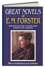 Great Novels of E M Forster Where Angels Fear to Tread, Room With A View.....