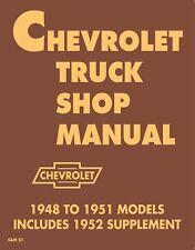 1948-1953 Chevrolet Truck Shop Manual