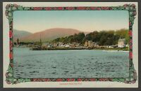 Postcard Lamlash on Isle of Arran early view from the Pier