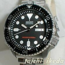 SEIKO Automatic Divers 200m SKX007KD SKX007K2 Men's Watch Black from Japan EMS