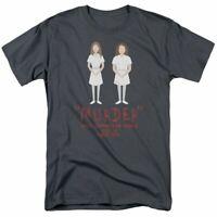 American Horror Story Murder T Shirt Licensed Horror TV Show Tee New Charcoal