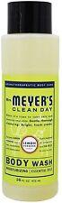 Mrs Meyers Clean Day Body Wash, Lemon Verbena Scent 16 oz