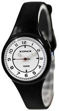 Small Xonix Watch Analog Women's and Girls Nickel- Wr100m Pm/3