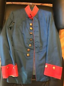 WW1 GERMAN IMPERIAL ARMY? UNIFORM TUNIC Red and Navy COAT