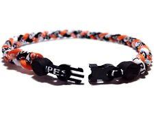 New Sports Necklace. Twisted Titanium Sports Braided Necklace. Medium Size