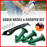 3-in-1 Silicone Caulking Finisher Tool Nozzle Spatulas Filler Spreader Tool Set