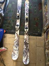Salomon Minx  ski's 150 cm and poles 125cm
