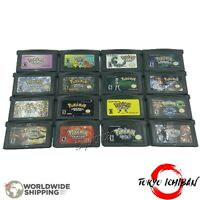 Jeu Pokemon Nintendo Game boy Advance - GBA SP / DS Lite / GBM Aventure Emeraude
