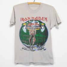 Details about  Iron Maiden Shirt  tshirt 1987 Somewhere On Tour concert t gildan