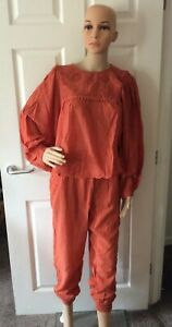 Free People Valencia Set Top & Pants - Rust - XS or S or M