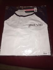 Jack Wills Ladies Raglan T-Shirt, Size 8