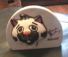 Lorna Bailey POS point of sale cat plaque Excellent Condition FREE P&P +