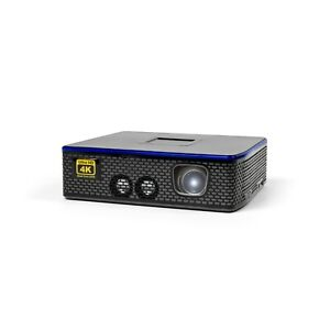 AAXA 4K1 LED ULTRA HD Projector, 1500 Lumens, 3840x2160 Home Theater (REFURB)