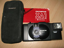 OLYMPUS XA1 35MM CAMERA MINT 14 DAY GUARANTEE A9M FLASH TESTED EVERYTHING WORKS