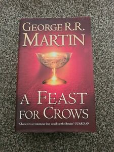 A Feast for Crows - George R.R. Martin - UK 1st edition hardback 2005 Voyager