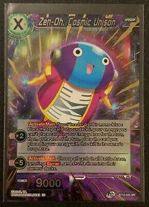 Zen-Oh, Cosmic Unison   BT10-035 SR   Blue   Dragonball Super TCG