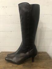 Liz Claiborne Brown Boots Women's Knee High Fashion Winter
