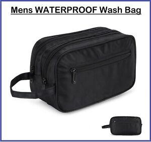 Waterproof Travel Wash Bag Hanging Men Toiletry Organizer Shaving Cosmetic Case