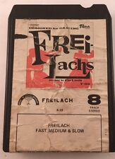 8-TRACK Tape Freilach Fast Medium Slow Music Designed For Dancing House Of Menor