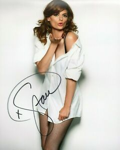 Autographed Stana Katic signed 8 x 10 photo Great Condition