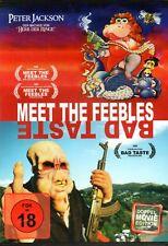MEET THE FEEBLES & BAD TASTE - DVD..Uncut, Peter Jackson..Double Feature..