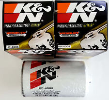 x2 K&N HP-4005 Performance Gold Wrench Off Oil Filter