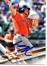 A.J. Reed Houston Astros 2017 Topps Signed Card