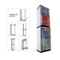 36 Game Disc Storage Rack CD Storage Stand Box Bracket Holder for PS5 ONES NS