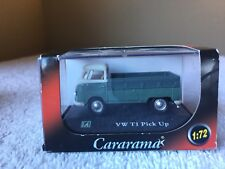 VOLKSWAGEN VW T1 Pick Up Green Malibu Cararama 1:72